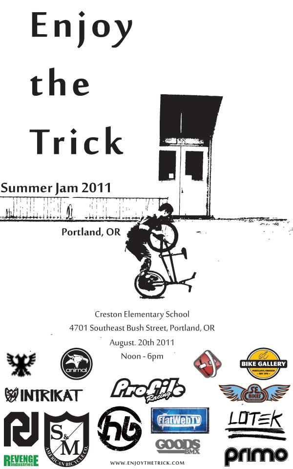 2011 Portland Summer Flatland Jam